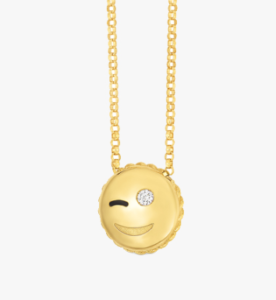 , 6 Cute Emoji Pendants by Roberto Coin, Victoria's Jewelry Box