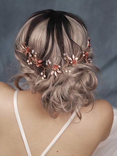 Women/'s Bridal Wedding Hair Bands Jewelry Headbands Accessories for Brides