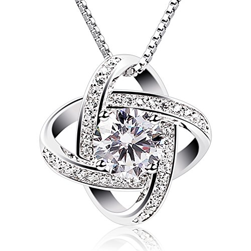 Women Sterling Silver Pendant Necklace, Gifts for women
